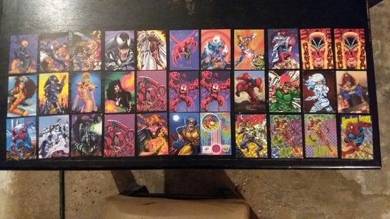 Lote Y Tarjetas Sueltas Pepsi Cards 94 Marvel