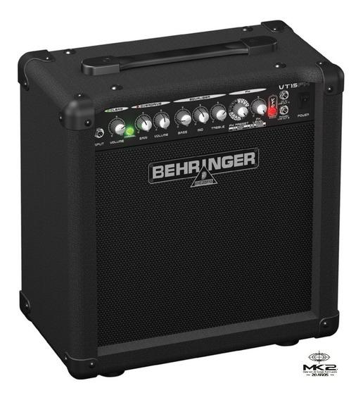 Amplificador Guitarra Behringer Virtube Vt15fx 15w Oferta 6p