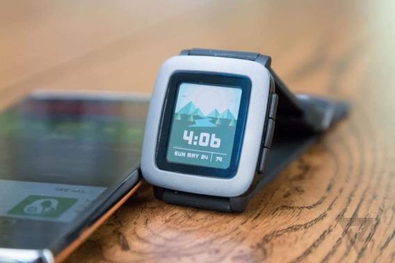 Relógio Pebble Time (original)