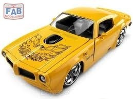 Miniatura Muscle Car Pontiac Firebird Trans Am 1/24 Jada