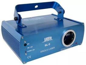 Semi-novo-laser Sl-5 De 50 Mw Verde-novo Na Caixa-bivolts