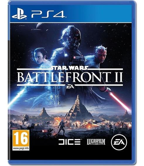 Jogo Star Wars Battlefront 2 Ps4 Mídia Física Novo Nacional