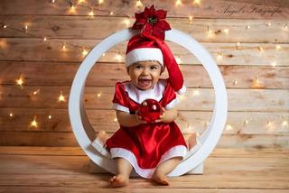 Roupa Para Natal Infantil Figurino Ensaio Natal