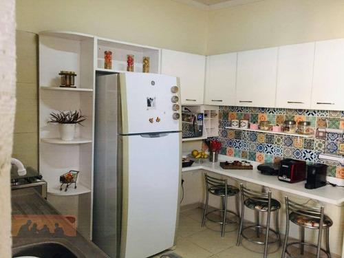 Imagem 1 de 18 de Casa Com 3 Dormitórios À Venda, 151 M² Por R$ 560.000,00 - Jardim Santa Genebra - Campinas/sp - Ca2331