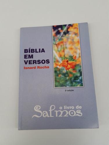 Livro Bíblia Em Versos O Livro Dos Salmos Isnard Rocha  J281