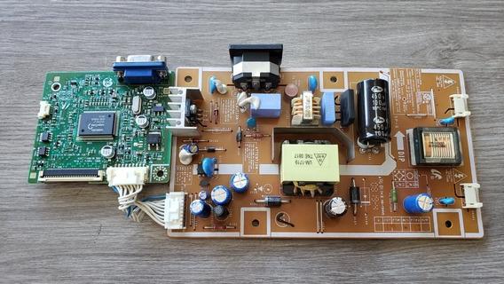 Placa De Sinal E Fonte Monitor Samsung 732nw