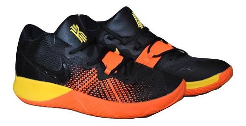 Kp3 Botas Caballeros Nike Kyrie Irving Flytrap Negro Naranja