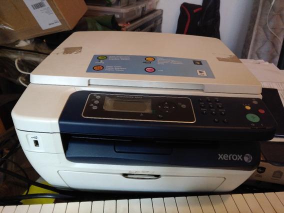 Multifuncional Laser Xerox Workcentre 3045 - Impressão Gasta