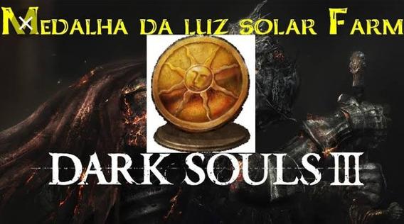 Dark Souls 3 Medalhas Da Luz Solar Ps4