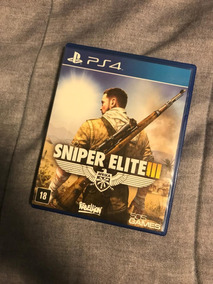 Jogo Ps4 Sniper Elite Iii