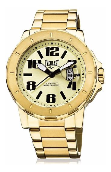 Relógio Analogo Everlast E644 Dourado