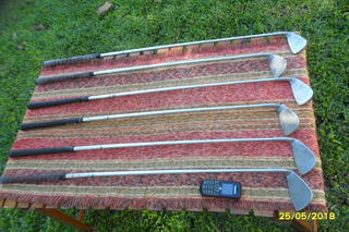 Palos De Golf Cannon Spalding Nº 5, 6, 7 8 9 Y P