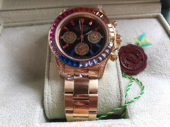 Relógio Rolex Daytona Rainbow (arco Íris)