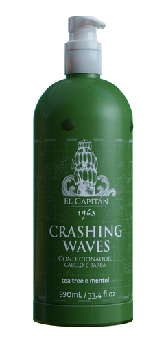Condicionador Masc Crashing Waves 990ml El Capitán