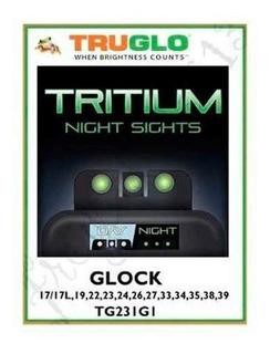 Mira Vision Noctura Truglo Tritium Para Glocks 17 19 25