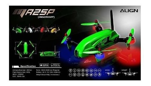 - Drone Mr25p Racing Quad Combo 300mw -rm42503xsp
