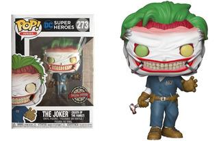 Funko Pop The Joker #273 Special Edition Dc Jugueterialeon