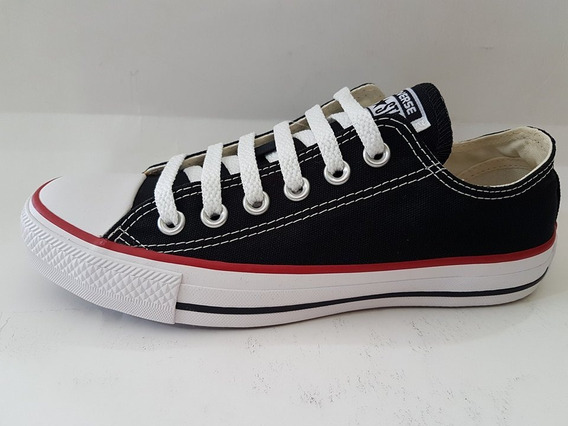 10007 Tênis All Star Converse - Preto - 33 Ao 44