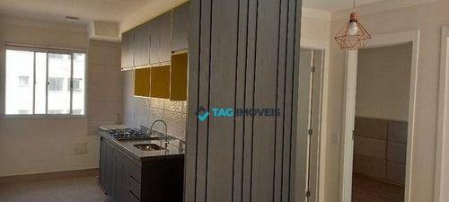 Imagem 1 de 9 de Apartamento Com 2 Dormitórios À Venda, 49 M² Por R$ 219.000,00 - Parque Bom Retiro - Paulínia/sp - Ap2542