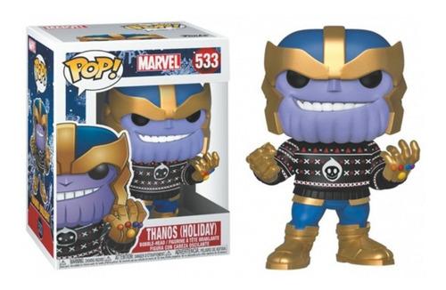 Figura Funko Pop Avengers Holiday Thanos