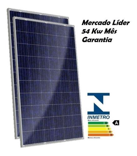 Kit 2x Painel Placa  Energia Solar Fotovoltaica 150w Watts