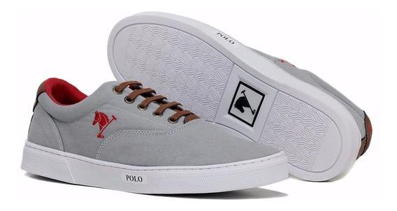 Tenis Sapatenis Polo Bra Masculino Sapato Casual Kit Com 2