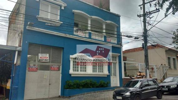 Sobrado Comercial Para Locação, Ipiranga, São Paulo. - So1343