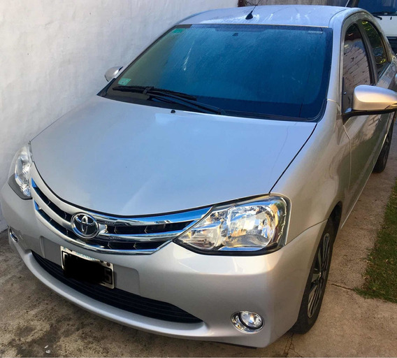 Toyota Etios 1.5 Sedan Platinum 2016