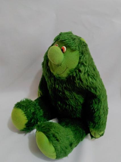 Monstrinho Verde ( Pé Grande Sasquatch ?) Usado 36 Cm B 22