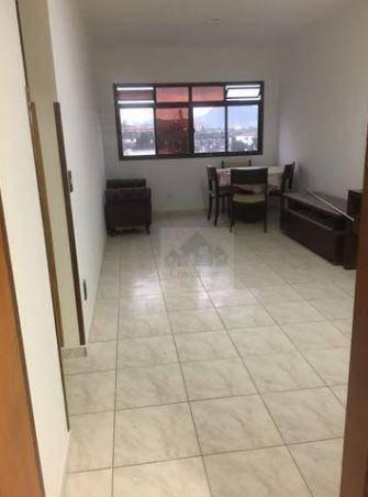 Apartamento Com 2 Dormitórios Para Alugar, 110 M² Por R$ 2.600,00/mês - Ponta Da Praia - Santos/sp - Ap2441