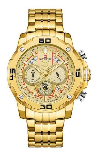 Relógio De Pulso Multifuncional Masculino De Quartzo Luminos