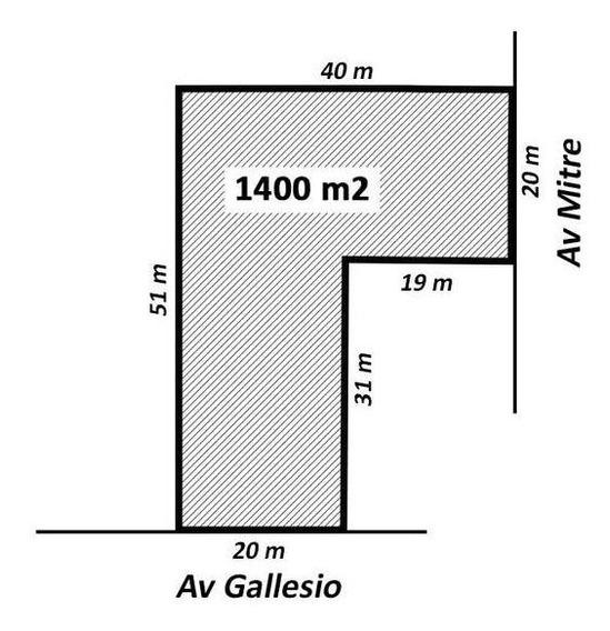 Terreno En Alquiler En Zárate Centro. 1260 M2.