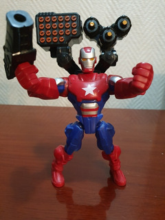 Súper Hero Mashers, Iron Patriot - Original Hasbro