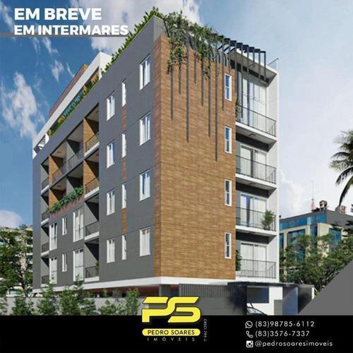 Apartamento Com 1 A 2 Dormitório À Venda, A Partir De 36 M² Por R$ 159.900 - Intermarés - Cabedelo/pb - Ap4432