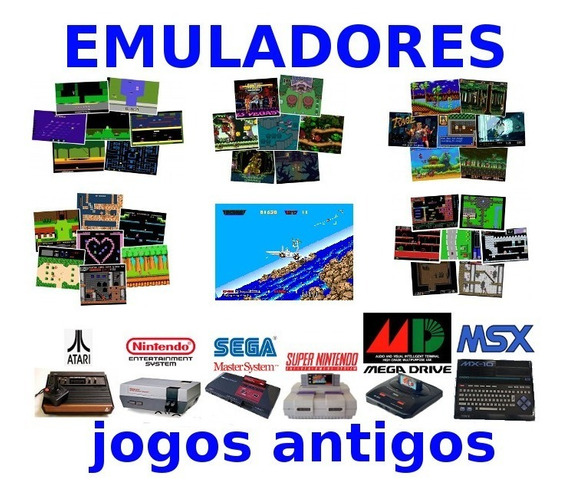 Emuladores 10000jgs Pc Snes Megadrive Atari Envio No Email
