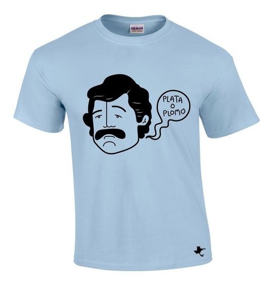 Playera Series Tv Pablo Escobar Mod. 18 Tigre Texano Designs