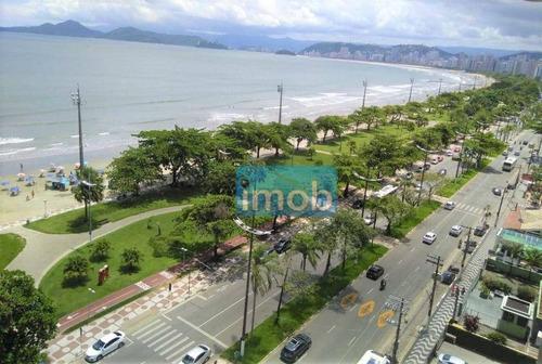 Imagem 1 de 15 de Apartamento Com 3 Dormitórios À Venda, 165 M² Por R$ 730.000,00 - Aparecida - Santos/sp - Ap8038