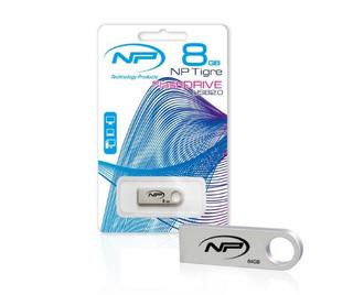 Memoria Np Usb 8gb Metalica Rapida Unicas Con Chip Samsung