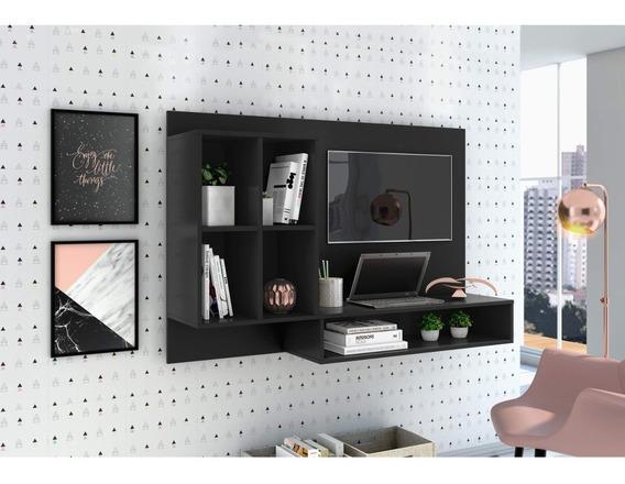 Escrivaninha Suspensa Com Painel Para Tv Até 37 Id