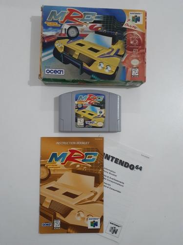 Jogo Mrc Multi-racing Championship (nintendo 64).