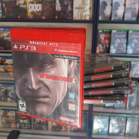 Metal Gear Solid 4 Ps3 Midia Física