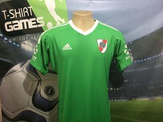 Camisa Do River Plate Usada Pelo Armani Temporada 2018.
