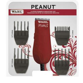 Máquina Recortadora Doméstica Wahl Peanut Roja