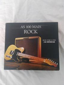 2 Box Com 5 Cds - 100 Mais Rock/ 100 Mais Românticas