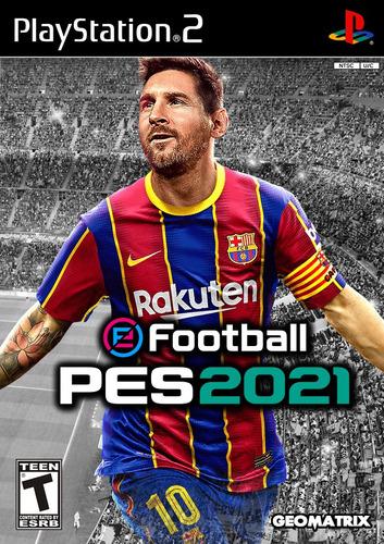 Pes 2021 (castellano)ps2-dvd Fisico