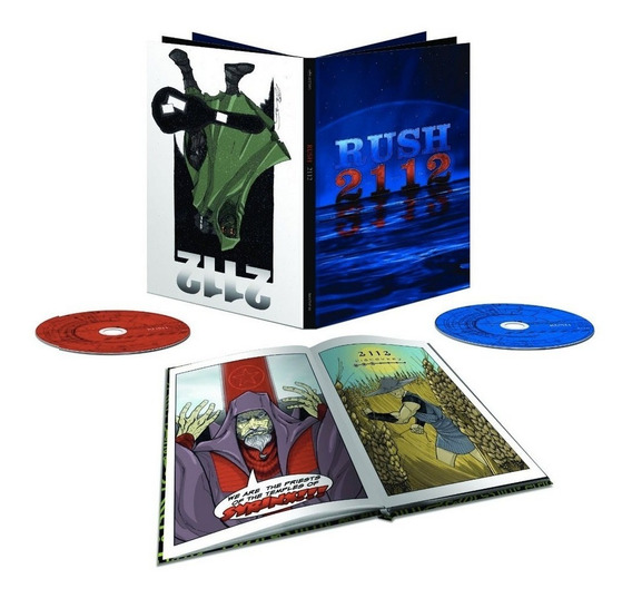 Rush - 2112 Limited Edition Super Deluxe [cd Blu-ray Book]