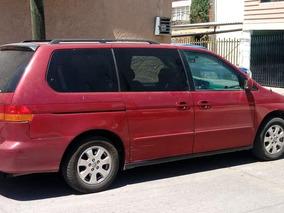 Minivan Honda Odyssey 2003 Automatica A./a. 5 Puertas
