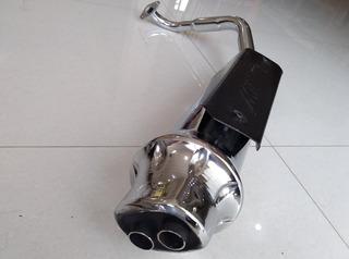 Silenciador Mofle Para Motos Miller Universal Gy6