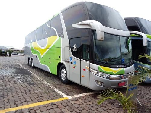 Ônibus Marcopolo Paradiso 1600 Ld G7 Mercedes 0500 Rsd Leito