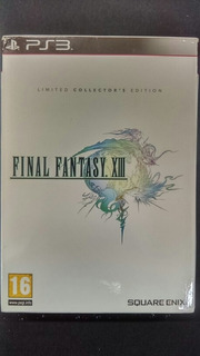 Final Fantasy Xlll Limited Collectors Edition Ps3 -wird Us-